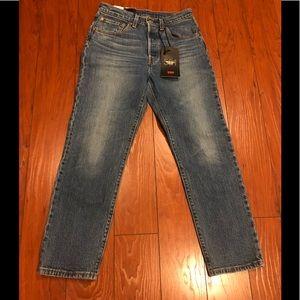 Levi's Premium 501 Original Cropped Jeans